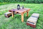 Фото 16 Мебель из поддонов (фото): экологично и оригинально