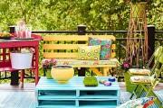 Фото 2 Мебель из поддонов (фото): экологично и оригинально