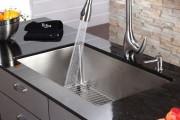 Фото 15 Мойка для кухни из нержавеющей стали (70+ фото): как выбрать идеальную модель для кухни?