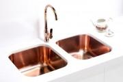 Фото 5 Мойка для кухни из нержавеющей стали (55 фото): удобно, стильно, долговечно