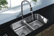 Фото 11 Мойка для кухни из нержавеющей стали (70+ фото): как выбрать идеальную модель для кухни?