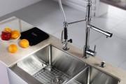 Фото 13 Мойка для кухни из нержавеющей стали (70+ фото): как выбрать идеальную модель для кухни?
