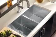 Фото 4 Мойка для кухни из нержавеющей стали (70+ фото): как выбрать идеальную модель для кухни?