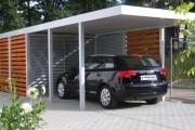 Фото 12 Навес для машины (90 фото): компактное укрытие для авто