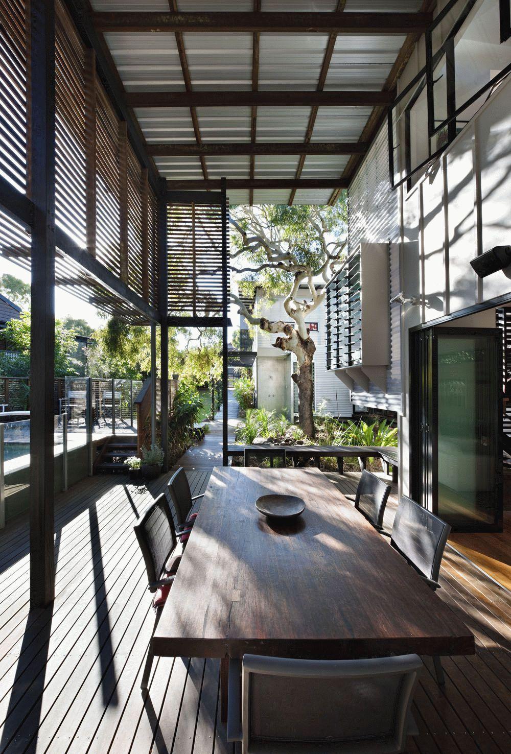 Веранда современного дома