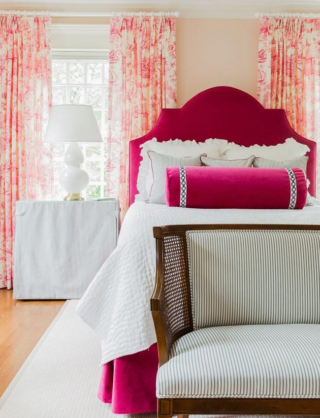 Стильная спальня для девочки подростка
