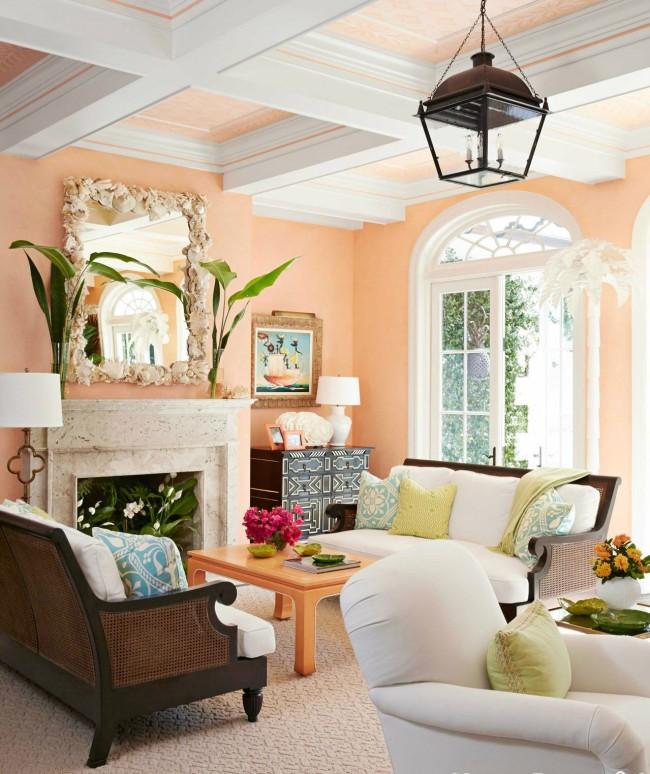 Персиковый цвет - источник покоя, гармонии и хорошего настроения