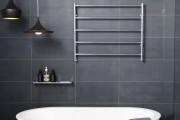 Фото 8 Полотенцесушитель для ванной: 65+ стильных вариантов для интерьера и советы дизайнеров