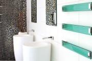 Фото 15 Полотенцесушитель для ванной: 65+ стильных вариантов для интерьера и советы дизайнеров