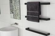 Фото 24 Полотенцесушитель для ванной: 65+ стильных вариантов для интерьера и советы дизайнеров