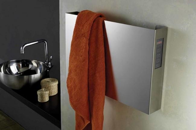Электрический полотенцесушитель требует внимательного обращения