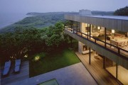 Фото 11 Проекты домов с плоской крышей (62 фото): новые материалы — новые возможности