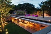 Фото 6 Проекты домов с плоской крышей (62 фото): новые материалы — новые возможности