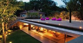 Проекты домов с плоской крышей (62 фото): новые материалы — новые возможности фото