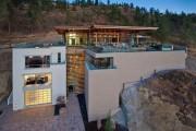 Фото 25 Проекты домов с плоской крышей (62 фото): новые материалы — новые возможности
