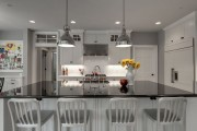Фото 8 Точечные светильники светодиодные потолочные встраиваемые (48 фото): современно, экономно, стильно
