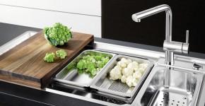 Мойка для кухни из нержавеющей стали (55 фото): удобно, стильно, долговечно фото