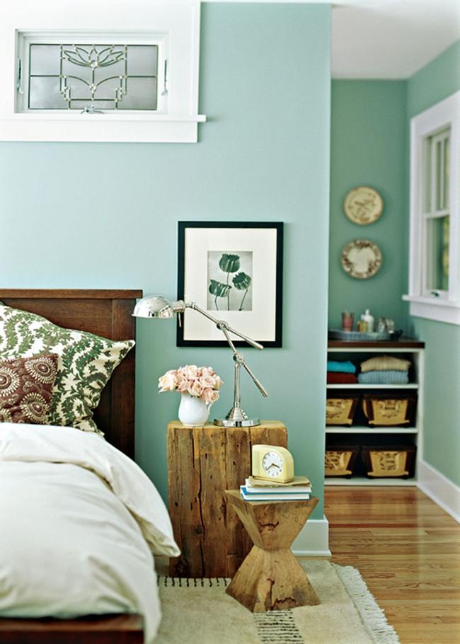 Голубой подойдет любому возрасту: он прекрасно впишется в оформление комнаты и подростка, и взрослого