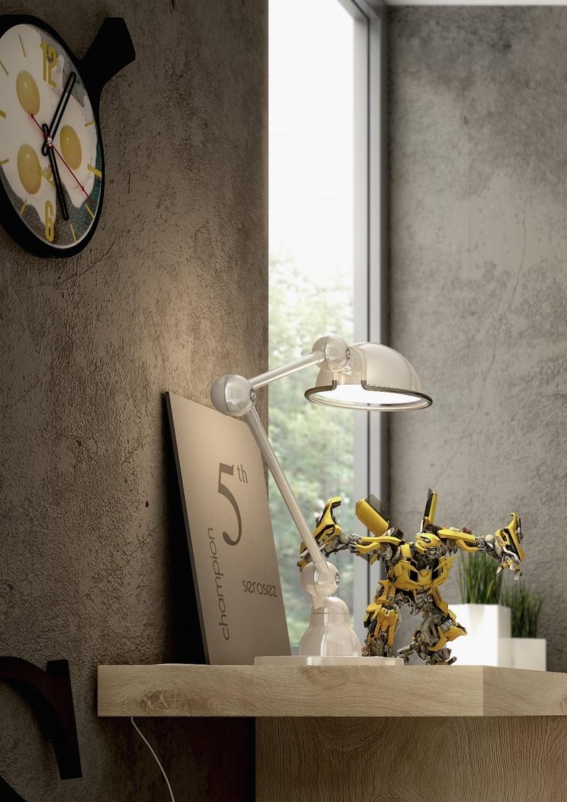 Выбранная вами красивая лампа для письменного стола школьника - одна из тех повседневных вещей, что постепенно прививают хороший вкус
