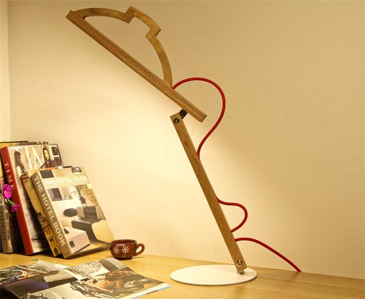 Лаконичность и юмор в дизайне светодиодной настольной лампы