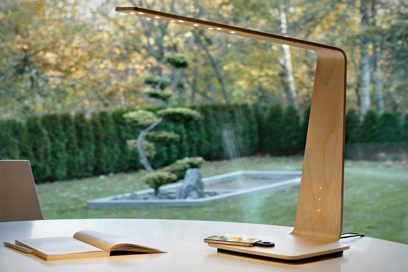 Светодиодная настольная лампа в минималистичном дизайне
