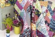 Фото 21 Пэчворк в интерьере (80 фото): как собрать пазл из разноцветных лоскутов?