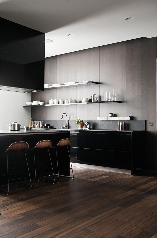 Основа стилевого направления кухни - правильно подобранные панели