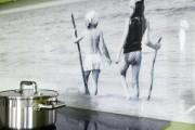 Фото 2 Стеновые панели для кухни (фото): выбираем стильное решение