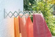 Фото 17 Сушилки для белья настенные (48 фото): раздвижные, стационарные и другие варианты