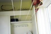 Фото 18 Сушилки для белья настенные (48 фото): раздвижные, стационарные и другие варианты