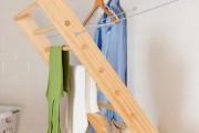 Фото 20 Сушилки для белья настенные (48 фото): раздвижные, стационарные и другие варианты