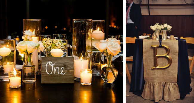 Оформление зала на свадьбу. Еще два способа необычно пронумеровать столы для гостей