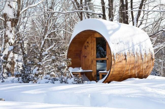 Баня зимой – польза для тела, радость для души