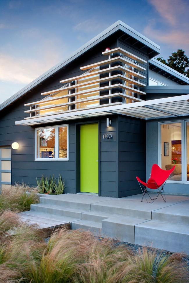 Деревянное жилище в стиле модерн