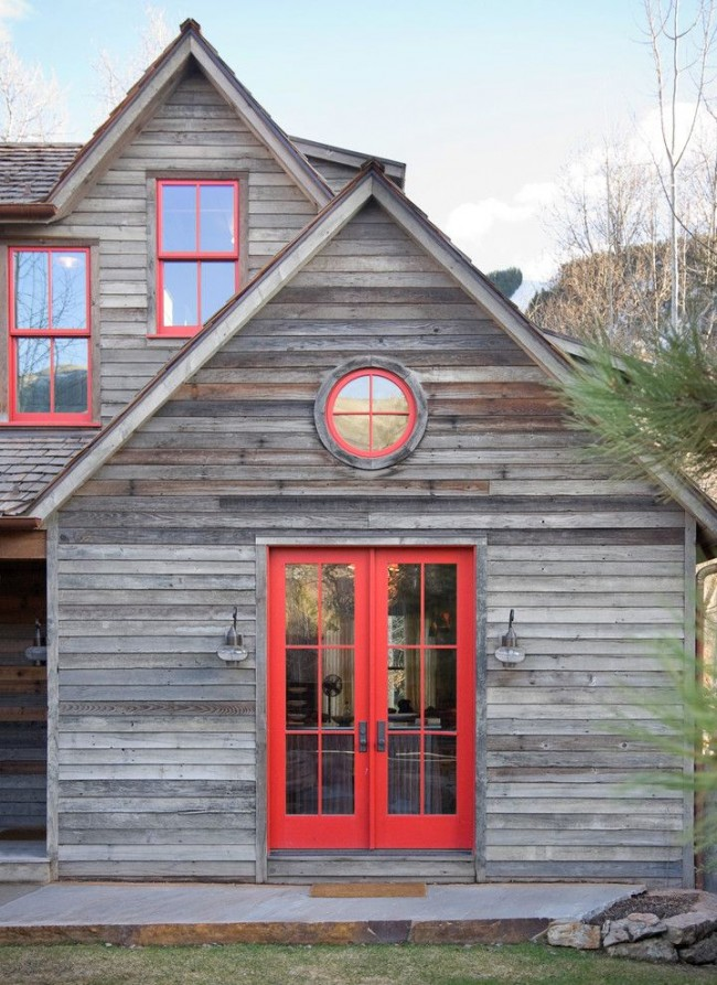 Дом в рустикальном стиле