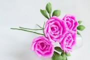 Фото 7 Цветы из гофрированной бумаги своими руками: лучшие мастер-классы и советы по декору