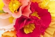 Фото 10 Цветы из гофрированной бумаги своими руками: лучшие мастер-классы и советы по декору