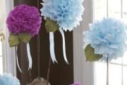 Фото 18 Цветы из гофрированной бумаги своими руками: лучшие мастер-классы и советы по декору