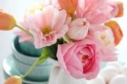 Фото 26 Цветы из гофрированной бумаги своими руками: лучшие мастер-классы и советы по декору
