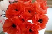 Фото 4 Цветы из гофрированной бумаги своими руками: лучшие мастер-классы и советы по декору