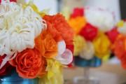 Фото 48 Цветы из гофрированной бумаги своими руками: лучшие мастер-классы и советы по декору