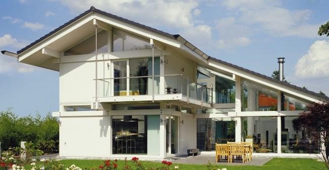 Фахверковый дом в современном стиле