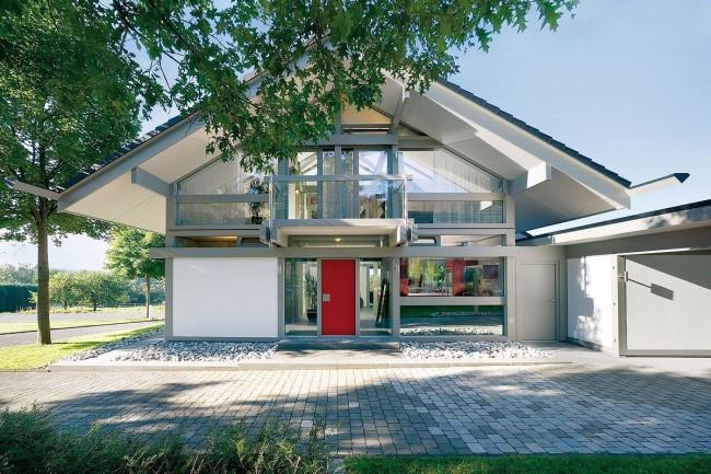 Современные фахверковые дома все больше набирают популярность