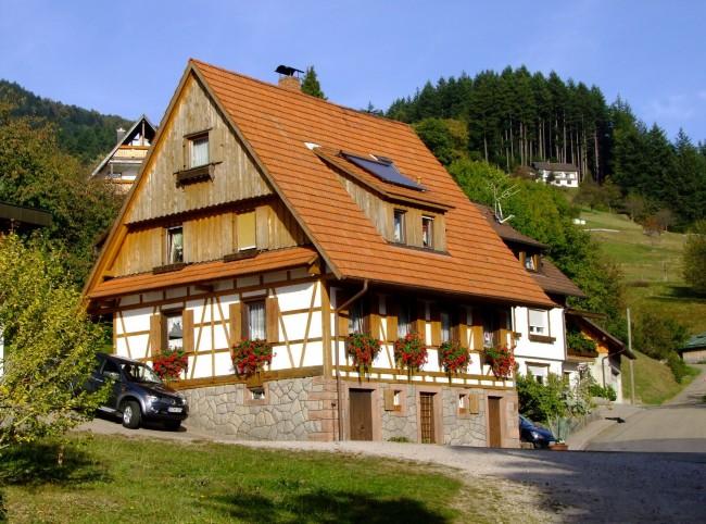 Фахверковый дом - практичность и красота в одном лице