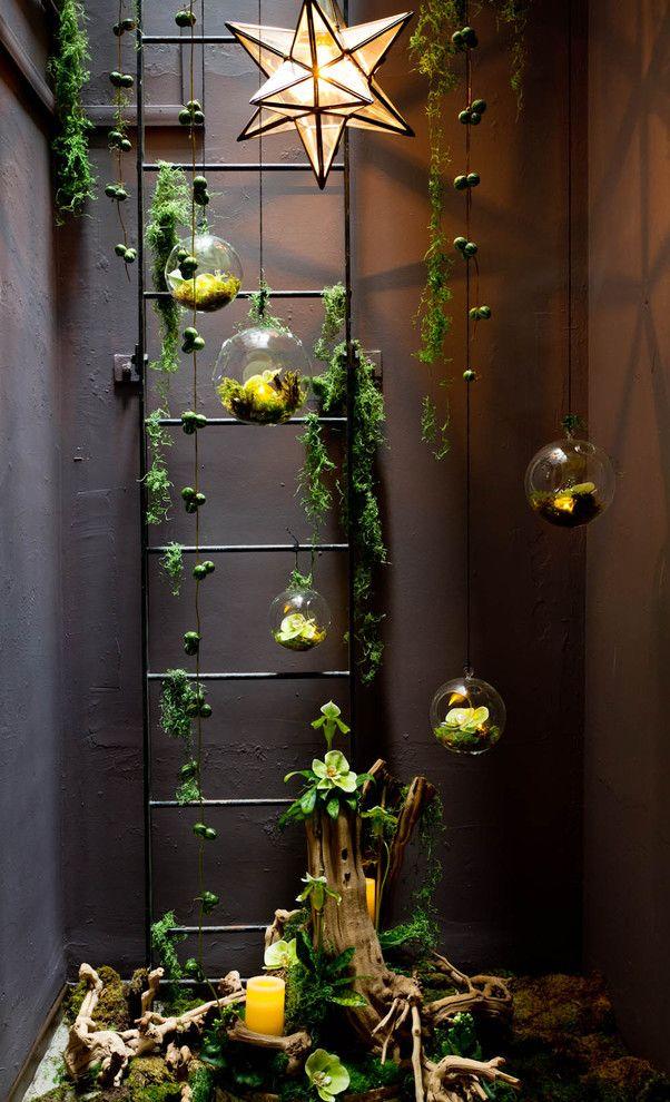 Множеством флорариумов можно украсить жилище, оформленное практически в любом стиле