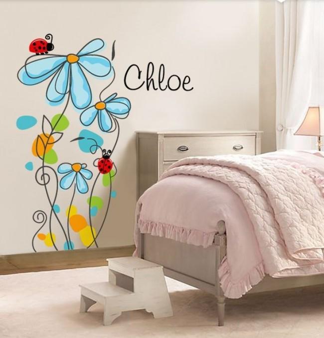 Все детские фрески на стену должны быть понятны ребенку и доставлять ему удовольствие