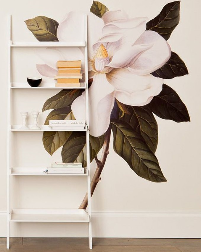 Фреска на стену в интерьере фото