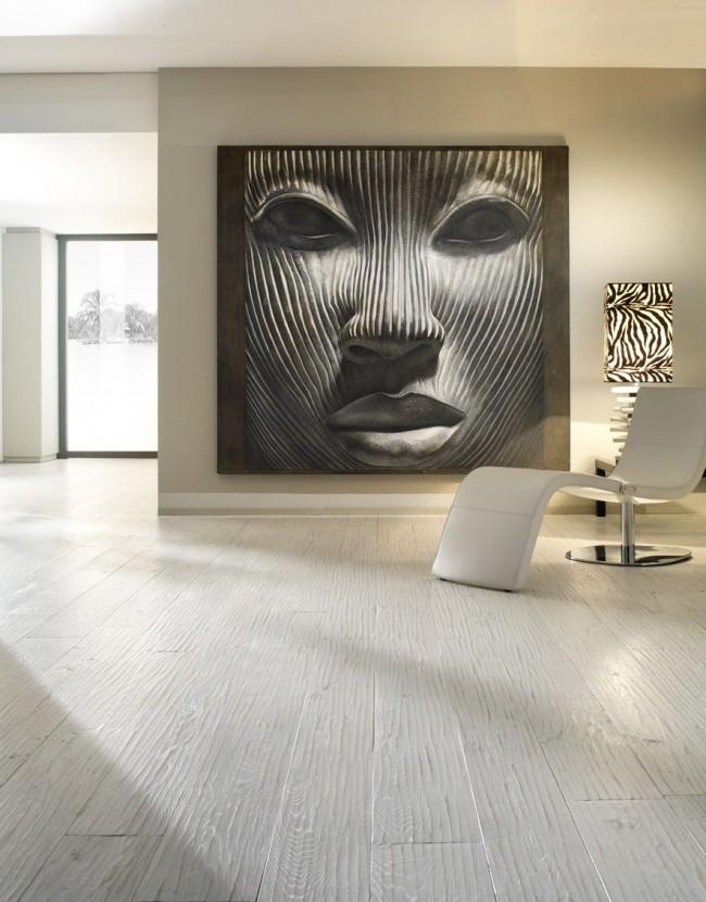 Сегодня фрески в интерьере квартир могут быть исполнены в различных манерах и стилях