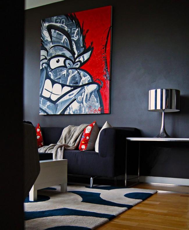 Современные и винтажные фрески на стену представлены множеством готовых сюжетов