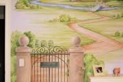 Фото 4 Фреска на стену (59 фото): древнее искусство в современном интерьере